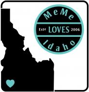 MeMe Loves Idaho Banner