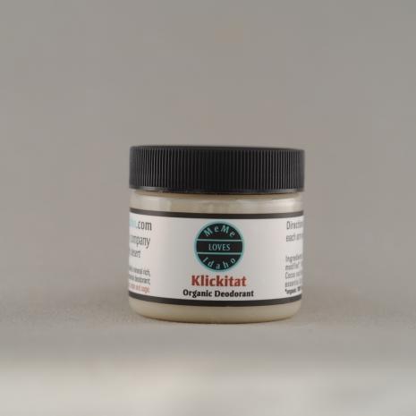 Klickitat Organic Deodorant